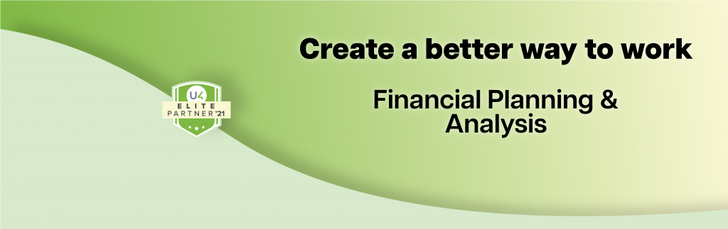 FP&A Financial planning and analysis software